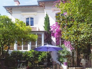Superb villa in Cannes on the French Riviera with balcony, garden and terrace