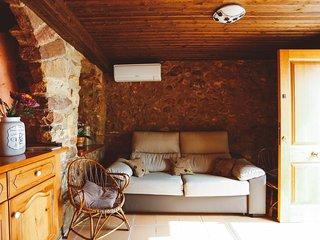 Salón, sofá cama
