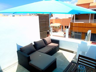 Cute apartment with terrace for couples