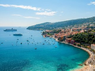 Fabulous ground floor apartment Villefranche