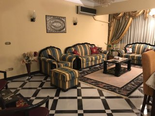 Cozy 3 BD APT infront of Holiday Inn City Stars