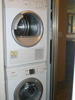 BOSCH Washer and Dryer new 2012
