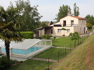 House with 2 bedrooms in Gauriac, with pool access, enclosed garden and WiFi