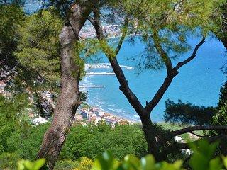 Torre Alpicella, Diano Marina: vista mare, giardino con pineta e vero relax!
