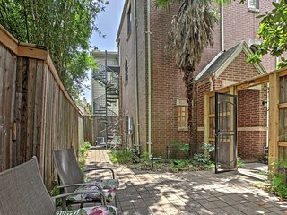 New! Upscale 3BR Houston Townhome w/Private Patio!