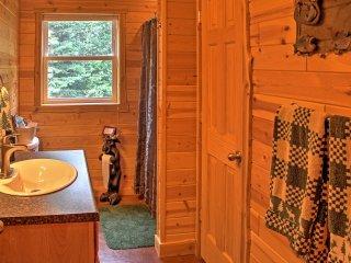 NEW! Rustic 1BR Nashwauk Cabin-Right on the Lake!