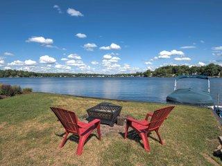 Lakefront Benton Harbor Home w/Dock & Huge Yard!