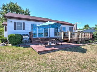 Lakefront Benton Harbor Home w/Dock & Huge Yard!