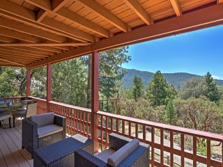 Spacious 4BR Idyllwild Cabin w/ Private Hot Tub!