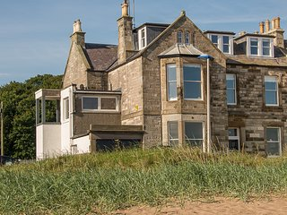 Stunning four bedroomed house with open plan living and sea views.