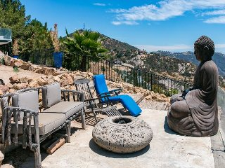 Panoramic Views from Every Room in this 2BR Villa w/ Grotto Patio & Hot Tub