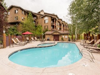 Ski-In, Ski-Out 4BR Townhouse w/ Pool & Hot Tub