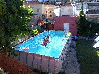 Relax, diversión, disfrutarjardín piscina barbacoa 1hMAD