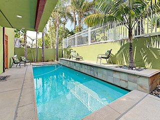 Unique Home in Encinitas with Pool & Spa – Sleeps 6