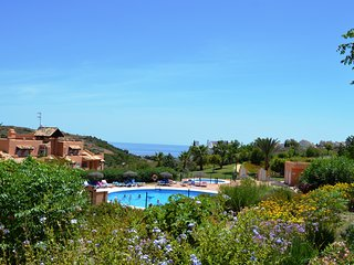LOVELY 3 BED 2 BATH GROUND FLOOR APT BURNET IN CASARES DEL SOL WITH SEA VIEWS