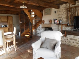 House with 2 rooms in Peyrusse le Roc, with enclosed garden and WiFi