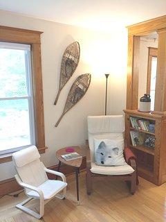 A cozy nook for conversation...