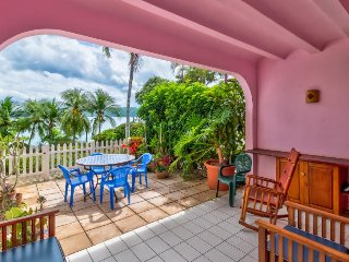 Soothing oceanfront resort condo with shared pool, free WiFi, and nearby beach!