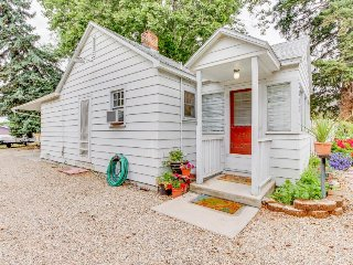 Dog-friendly cottage w/ updated amenities, firepit, outdoor space, & grill!