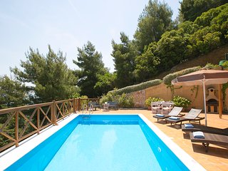 Two bedroom villa with private pool and stunning sea view