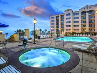 Stay in the elegant Oceanside Pier Resort!