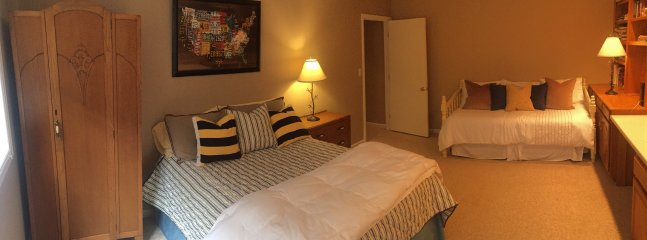 Fourth bedroom is ideal for children