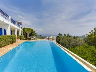 Villa vue panoramique Golfe de Saint-Tropez