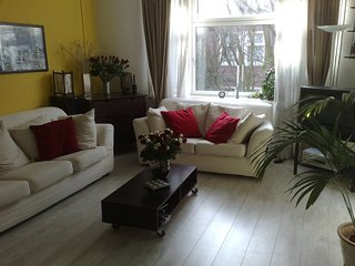 Very sociable/classic apartment middle Amsterdam