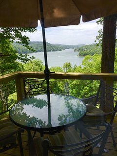 Wide open views of the lake from inside and out!!