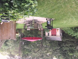 Great backyard with Patio- 37 Jacqueline Circle West Yarmouth Cape Cod New England Vacation Rentals