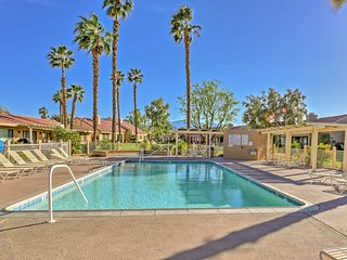 NEW! Palm Desert Resort Condo at Golf Course!