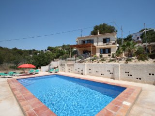 Dos Soles - sea view holiday home with private pool in Costa Blanca