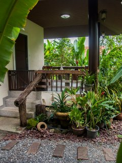 Palm Cottage, the perfect holiday retreat for peace and tranquility.