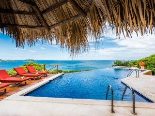 Casa Habibi: Oceanview 6BR w/ Pool, Staff, Near Flamingo Guanacaste