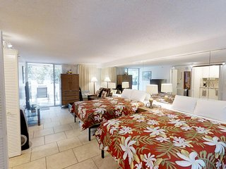 Diamond Head Beach Hotel & Residences #105 - Studio/1BA, Sleeps 5 - Ground Floor