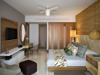 WONDERFUL LIVING at GRAND LUXXE DELUXE SUITE 1 BR Riviera Maya Cancun Margan