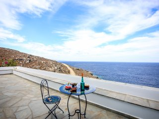Unique Sea front Villa Marpesia in Tinos, Cyclades, Greece