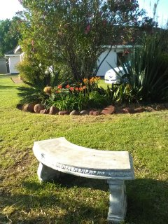 Relax by the little hideaway bench