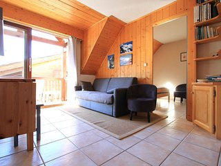 T3 apartment for 5 people 5 min from the slopes of Serre-Chevalier