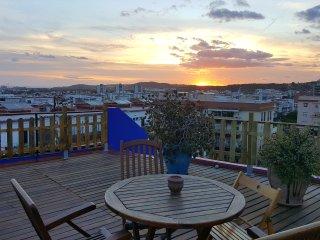 Ático Encantador con gran terraza y solarium