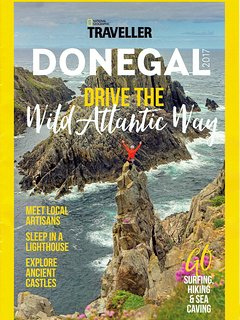 National Geograhic Travel magazine. Cover picture: Malin Head
