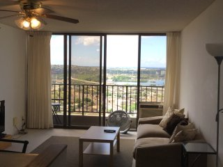 High Floor Condo with Views of Pearl Harbor