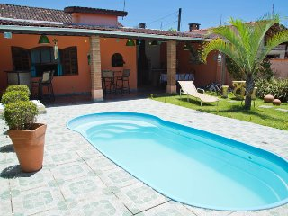 Casa Quero-Quero - com 3 dormitórios e piscina na Praia das Toninhas - Ubatuba