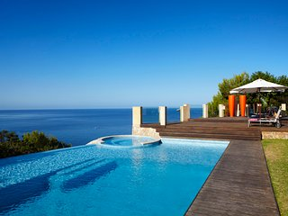 The luxury sunset Villa Milana