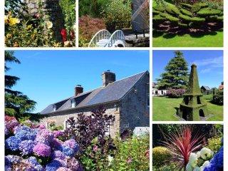 Longère et ses jardins paysagés Bed&Breakfast