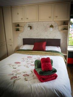 caravan double room