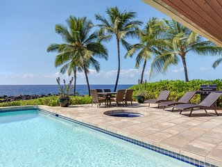 Ocean Front, Spacious 4 bedroom 3.5 bath home in Kona Bay Estates, VIlla Kai-PHKBEVK