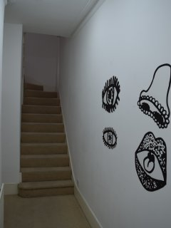 Entrance hall up to flat
