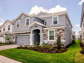 Brand NEW Stunning Home 9br at ChampionsGate near Disney +Private Pool