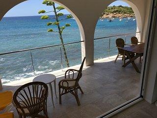 Villa en primera linea de mar a 200 metros de la playa en la calle Pietonal
